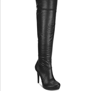 Thalia Sodi Beckie Over-The-Knee Boots size 8